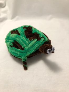 Pipe Cleaner Turtle