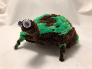 Chenille stem turtle