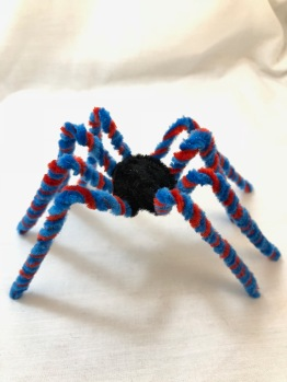 easy pipe cleaner spider