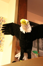 pipe cleaner eagle front
