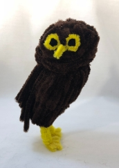 Pipe cleaner owl