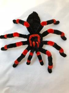 pipe cleaner tarantula 2