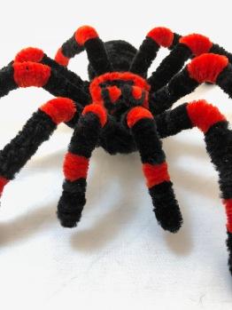 pipe cleaner tarantula closeup