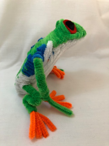 pipe cleaner tree frog side 2