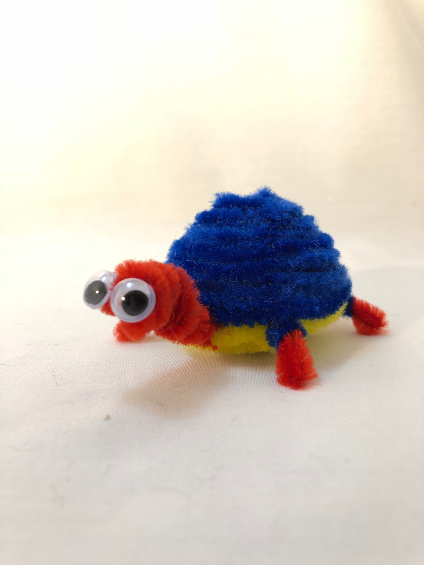 Pipe Cleaner Turtle Step By Step Instructions Easy 30 Minute