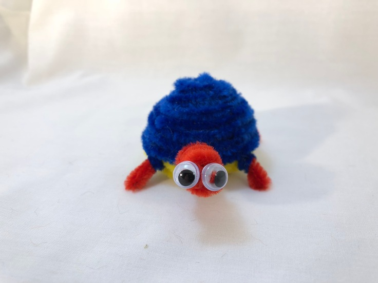 pipe cleaner turtle 4