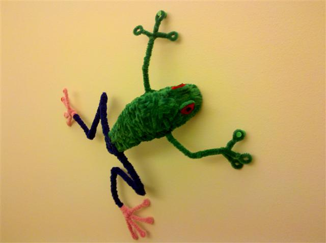 Easy Pipe Cleaner Frog Great Project For Kids Pipe Cleaner Animals