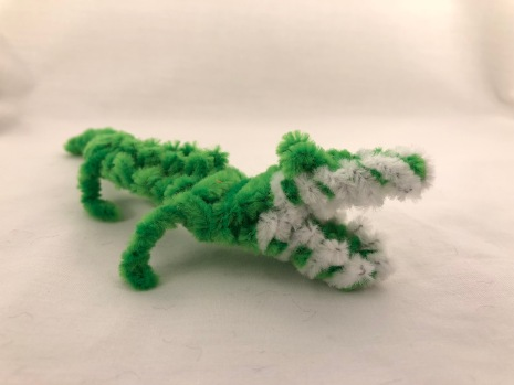 pipe cleaner alligator crocodile 8