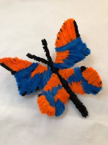 pipe cleaner butterfly 2