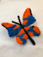 pipe cleaner chenille stem butterfly huge