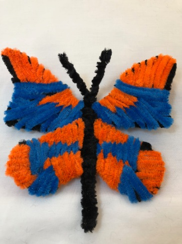 pipe cleaner chenille stem butterfly large easy