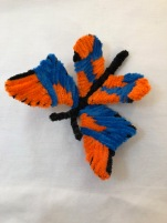 pipe cleaner chenille stem butterfly